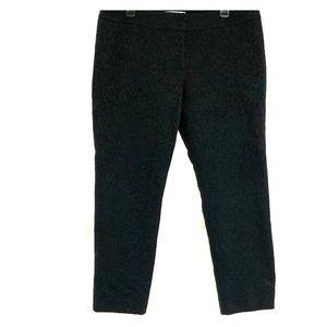 Ann Taylor LOFT 12P Black Dress Ankle Pants